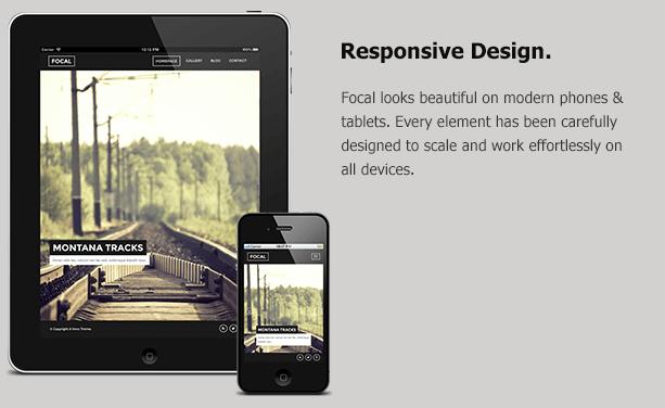 Responsive MODX Themes