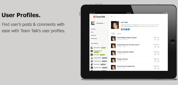 Team Talk - A Real Time Collaboration Theme  Team Talk - A Real Time Collaboration Theme  Team Talk - A Real Time Collaboration Theme  Team Talk - A Real Time Collaboration Theme  Team Talk - A Real Time Collaboration Theme