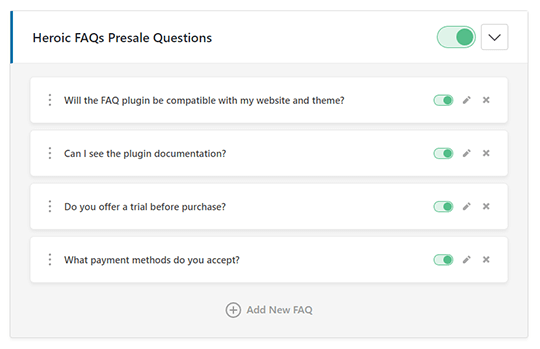 Heroic FAQs - Intuitive Interface