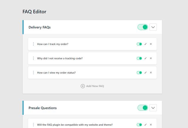 Heroic FAQs - WordPress FAQs Plugin