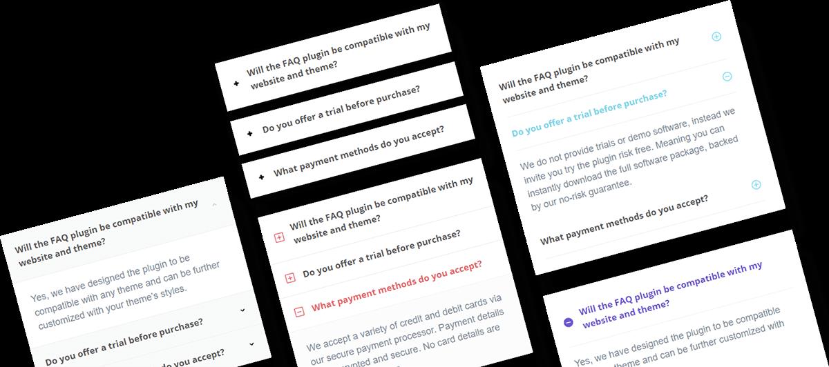 Heroic FAQs - FAQ Styles