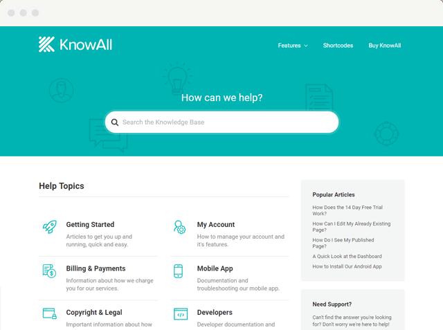 KnowAll - WordPress Knowledge Base Theme