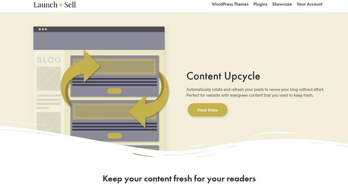 content upcycle
