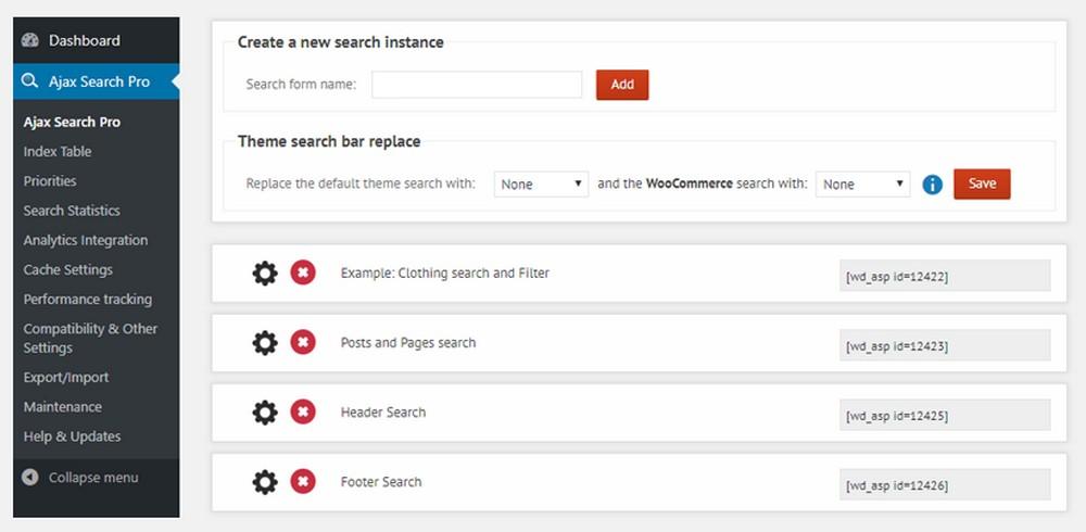 ajax search pro 2