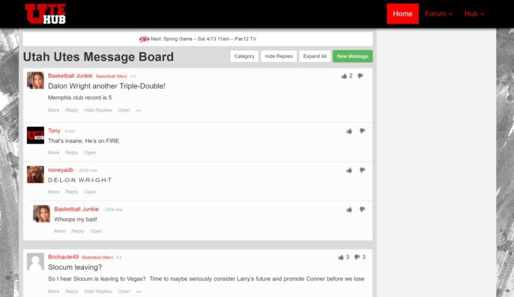 Ute Hub forums