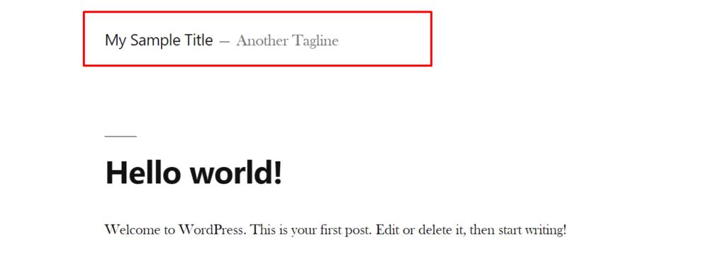 how to rename sidebars in wordpress