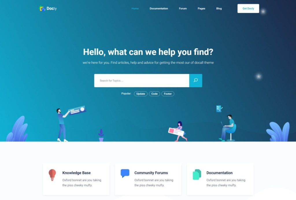 Docly homepage