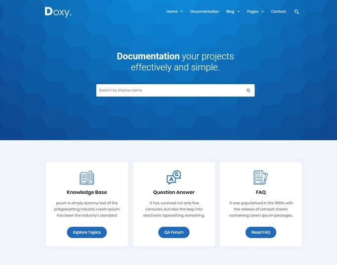 doxy-wordpress-theme