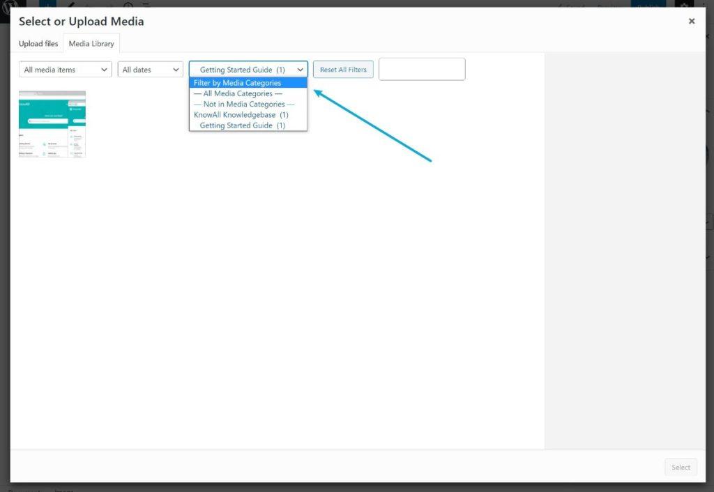 Inserting files using Enhanced Media Library