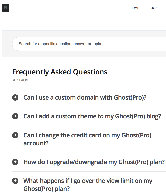 Faqs >> How To Structure And Organize Faqs Herothemes