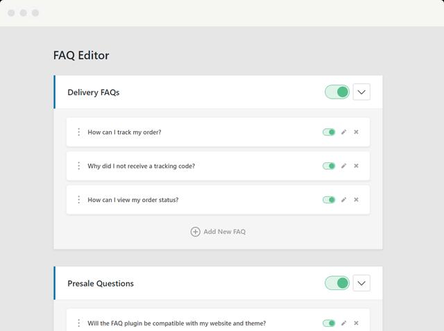 Heroic FAQs QA plugin demo