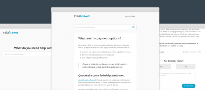InstaAnswer gets you off on the right foot with clean, sensible FAQ styling and structure.