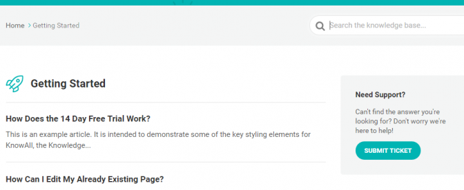 Integrating your knowledge base or FAQ with a ticketing system is a good idea