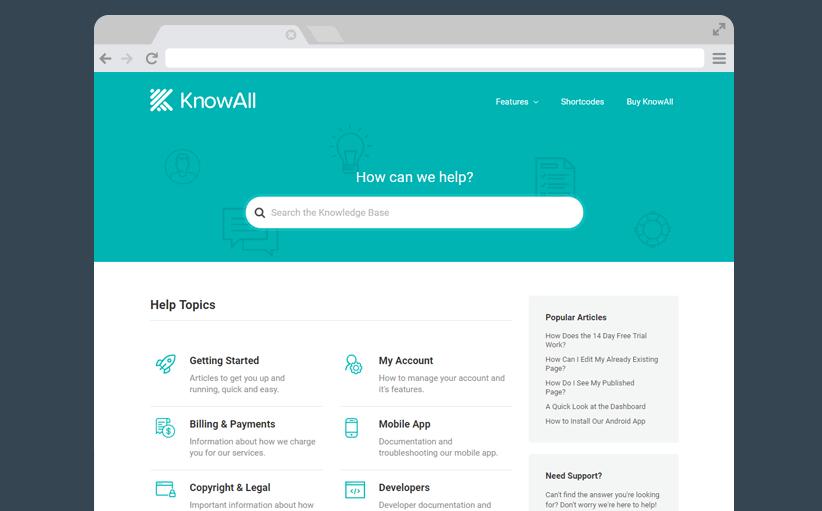 KnowAll WordPress Knowledge Base theme