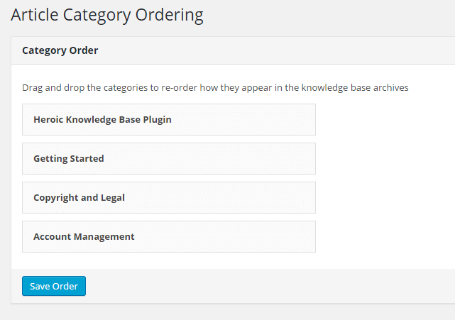 knowledge-base-category-order