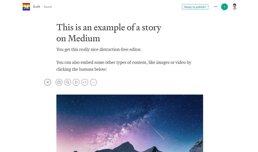 Medium Editor