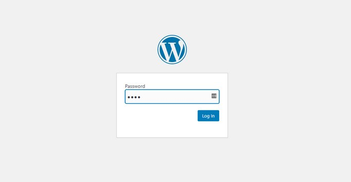 password-protect-wordpress-preview