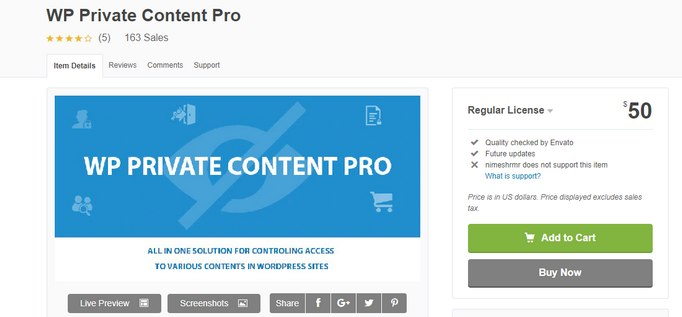 private content pro